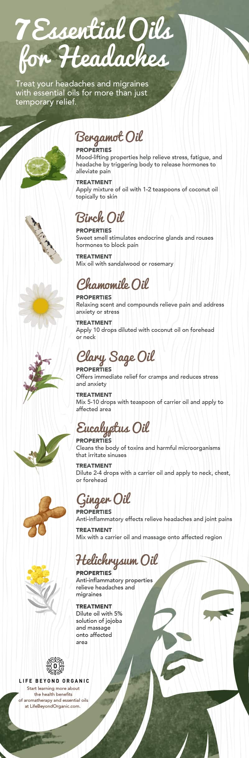 The Best Essential Oils For Headaches | 7 Essential Oils for Headaches
