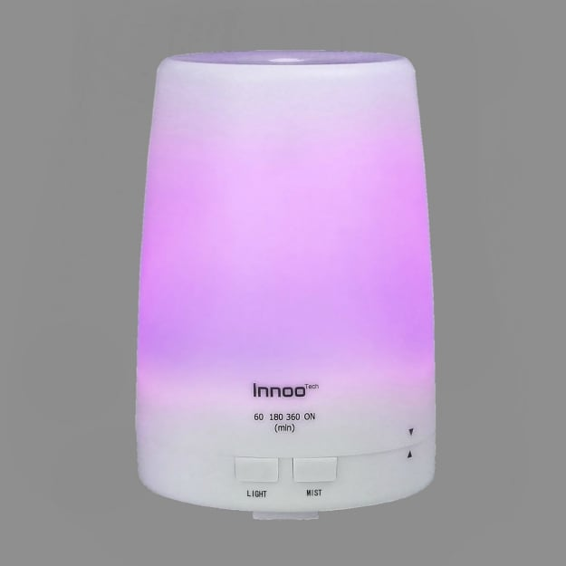 Get the Innoo Tech 300ml Diffuser for a Small to Mid-Sized Room | Essential Oils Diffusers For Small Spaces