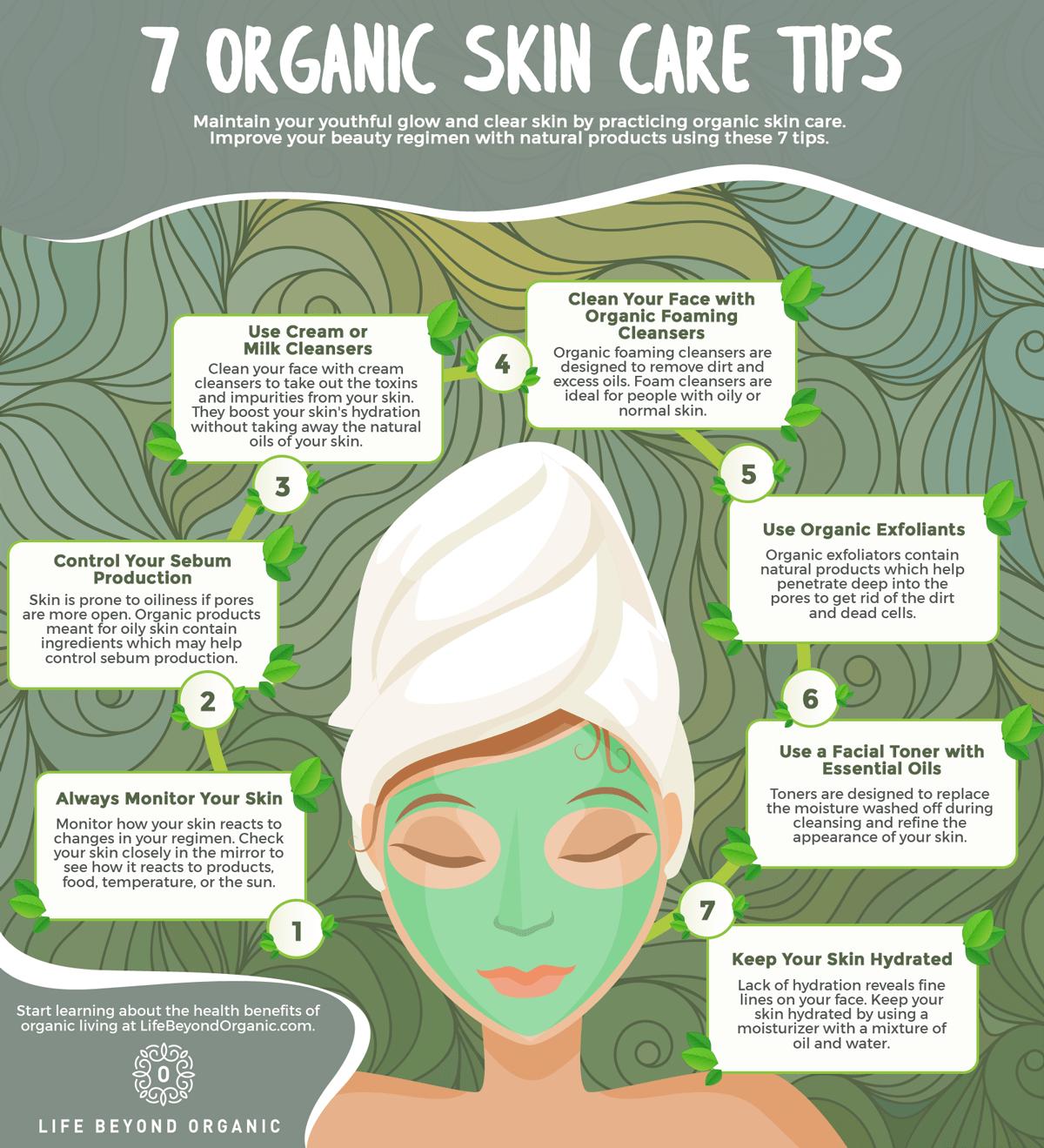 Organic Skin Care Tips And Tricks  Life Beyond Organic