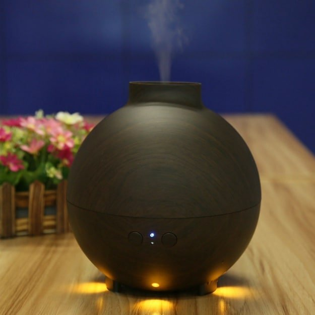 NexGadget Wood Grain Essential Oil Diffuser | Top Rated Essential Oil Diffusers For Large Rooms