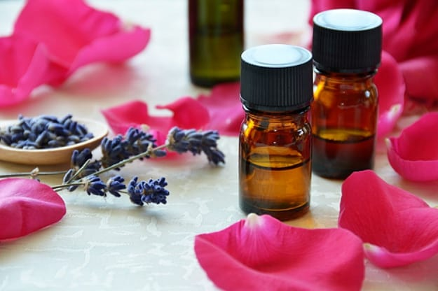Blend 3: Geranium, Rose, And Lavender Oils | Simple Do-It-Yourself Bath Salt Essential Oil Recipes