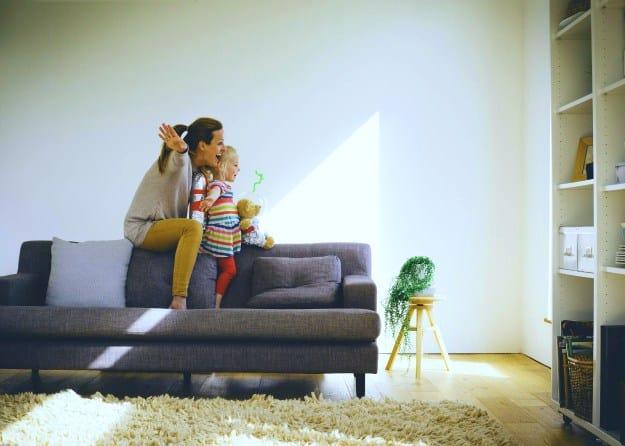 Mom Son Living Room Playing Home Dehumidifier Getty Life Beyond Organic
