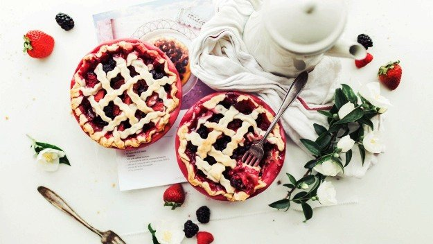 Apple-Cranberry Lattice Pie | Organic Thanksgiving Recipes To Cook This Holiday