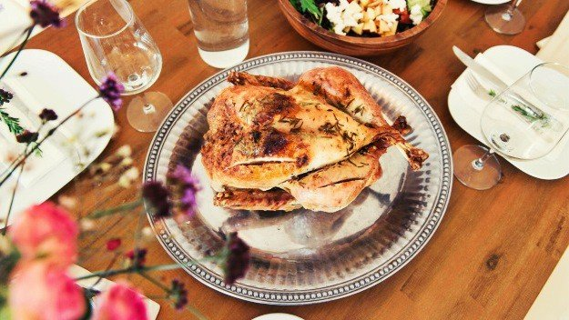 Roast Turkey with Sage | Organic Thanksgiving Recipes To Cook This Holiday